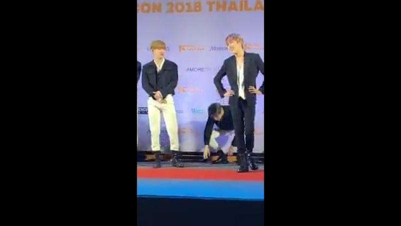 [29.09.18 Cut] - ㅡ KCON Tailândia - ImEmotional0126 - - 아이엠 창균 몬스타엑스 - IM MONSTA_X @OfficialMonstaX -