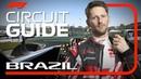 Romain Grosjean's Virtual Hot Lap Of Interlagos   2018 Brazilian Grand Prix