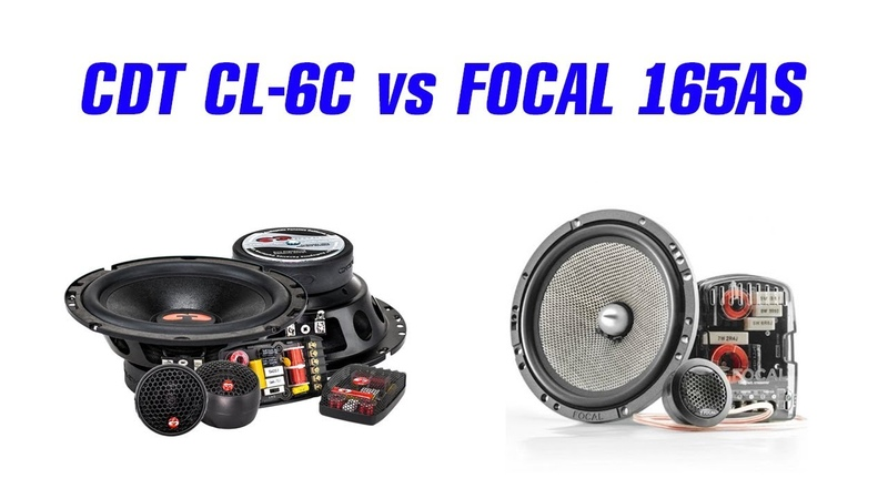 CDT CL-6C vs Focal Access 165 AS. Слушать только в наушниках!