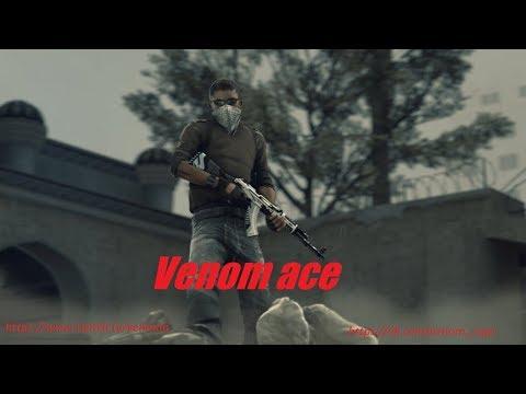 Venom ace on de_cache on faceit pugs