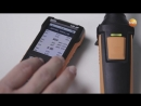 Measuring indoor air quality and comfort level using the testo440 - Be sure. Testo