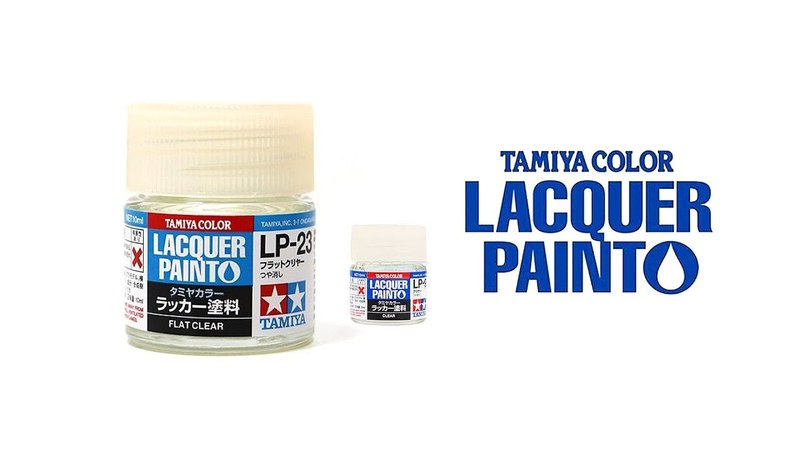 Лаки Tamiya из серии Laquer Paint