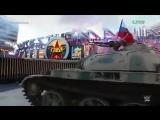 Калифорния в шоке Болгарский спортсмен под гимн РФ въехал на танке на 70-тысячный стадион в Лос Анжелосе !