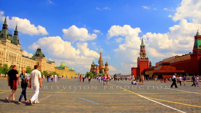 Москва 2012 Moscow Russia ЯРКОЕ ВИДЕО ПУТЕШЕСТВИЕ