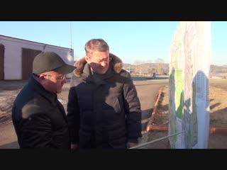 Временно исполняющий обязанности Главы Республики Башкортостан Радий Хабиров с рабочим визитом посетил Мечетлинский р-н