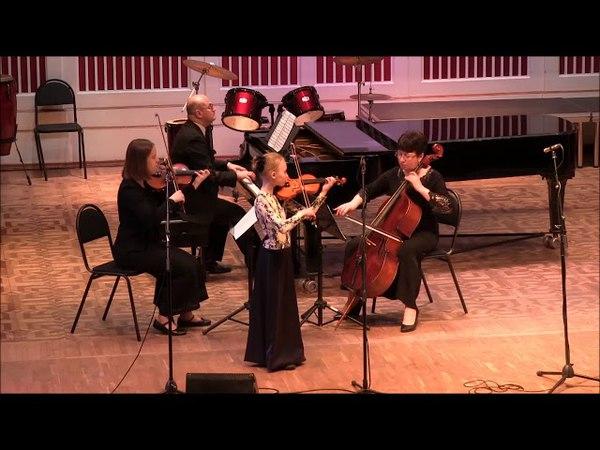 Дарья Туева Ф. Зейц Концерт 1, III часть