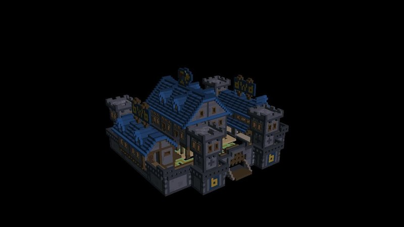 Stonehearth template. Inn Boy with Bag in steam workshop