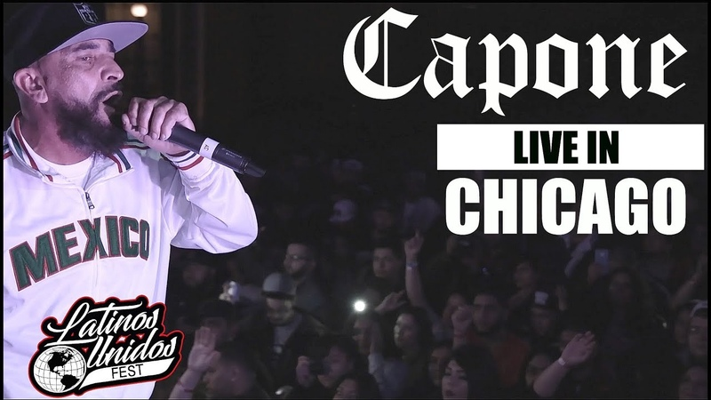 Capone LIVE Performence 2018 In Chicago Latinos Unidos Fest [CHICANO RAP 2018]