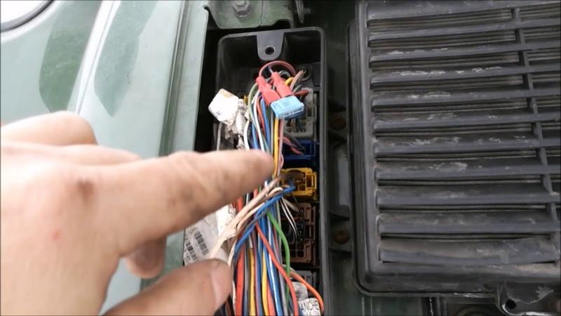 Загорелся значек-Т на панели приборов Volvo Fh