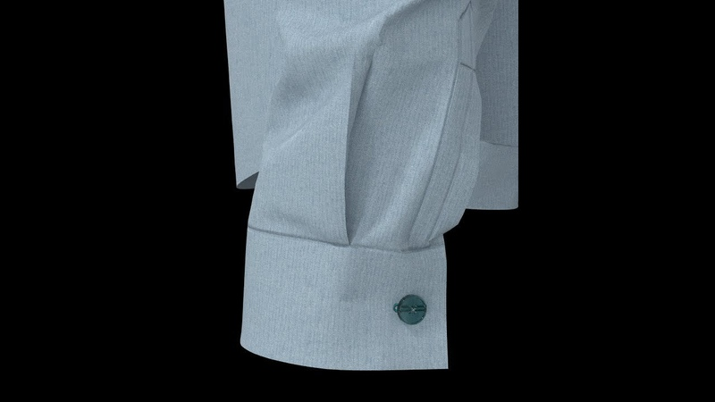 How to Sew a Dress Shirt Cuff with Pleat and Placket