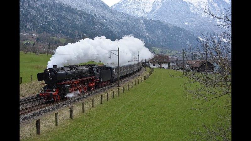Gotthardbahn vom 19.03.18 bis 22.03.18 –