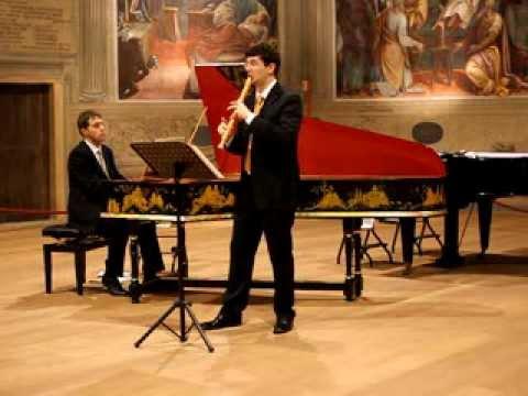 Arcangelo Corelli - Sonata Op.5 no.4 F-dur a flauto dolce e b.c. (M. Scorticati D. Pozzi)