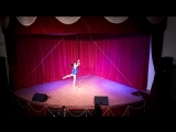 Тумаланова Наташа pole dance студии Дайкири. танцы в Чебоксарах