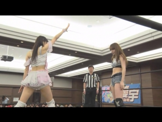 "Mizuki vs. Yuki Kamifuku (TJP - ""LET'S GO! GO! IF YOU GO! WHEN YOU GO! IF YOU GET LOST JUST GO TO NERIMA!"")"