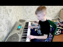 Никита, первый зачет в музыкальной школе
