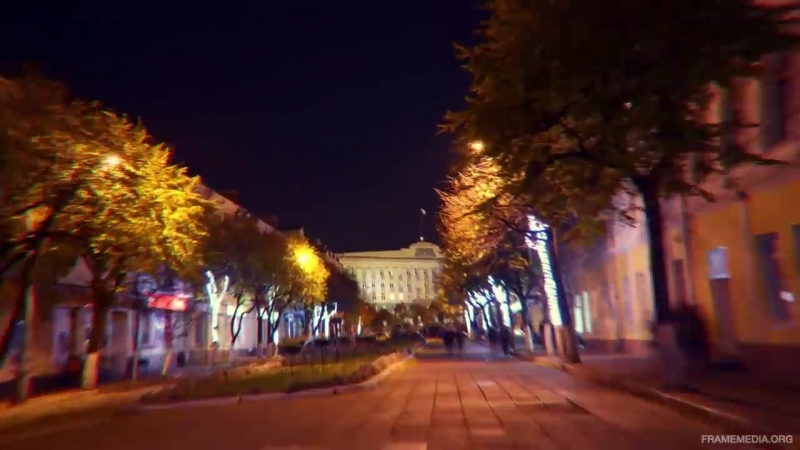 Орел - Orel - Russia - Timelapse Hyperlapse 2014