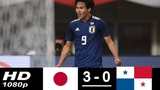 Japan vs Panama 3-0