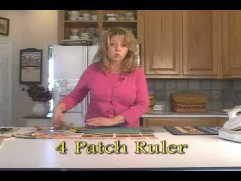 How to use the 4-patch and 9-patch rulers by Jodi Barrows
