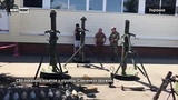 СБУ показала изъятый у группы Савченко арсенал оружия