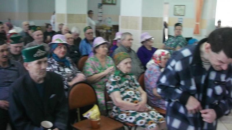 Дискотека в доме престарелых