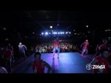 ZUMBA dancing to FIREHOUSE w-Daddy Yankee