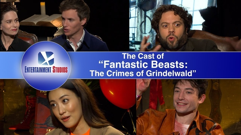 The Cast of Fantastic Beasts interview