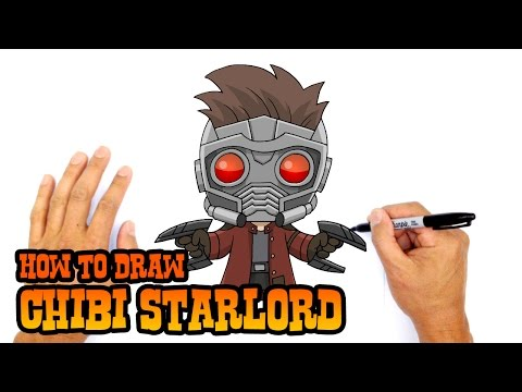 How to Draw Starlord | Guardians of the Galaxy