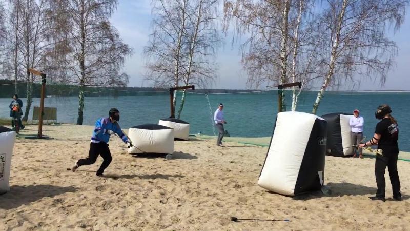 Видео с турнира Archery Tag на Огонь Пляже 19 05 2018 г