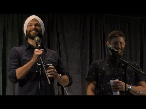SpnPitt 2018 Jared Padalecki and Jensen Acles FULL GOLD Panel Supernatural