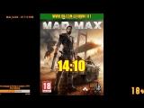 [18+] Шон играет в Mad Max (Xbox One X) - ТЕХНИЧЕСКИЙ СТРИМ