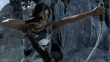 Rise of the Tomb Raider Sleeveless Camo Top Grey Pants Commando Outfit Mod.