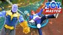 Новый Мститель! – Фёдор против Таноса на базе Антигероев!