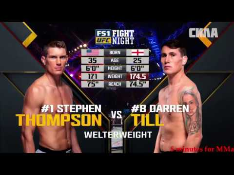 UFC_FN_130 Стивен Томпсон против Даррена Тилла UFC_FN_130 Stiven Tompson protiv Darrena Tilla (HD)