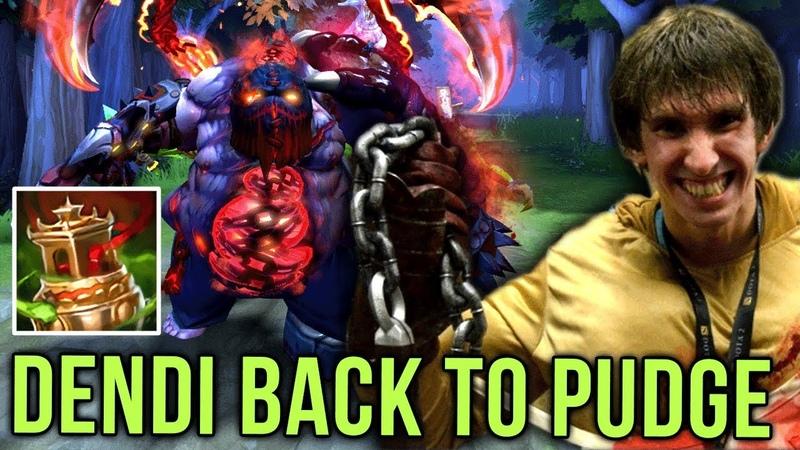 Dendi Pudge Legend Back to his Signature Hero Amazing Hooks Arcana Set Dota 2
