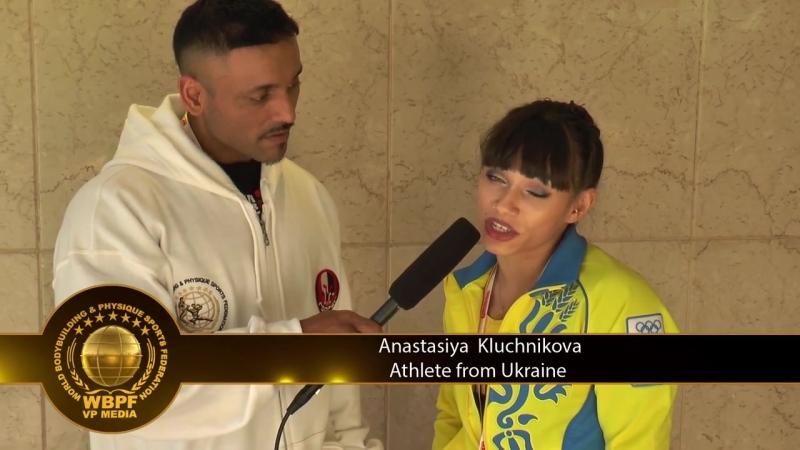 интервью с украинскими спортсменками Анастасией Ключниковой и Ольгой Вертегель