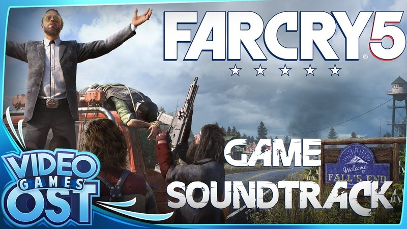 Far Cry 5 OST - Full Original SoundTrack (5 CDs)