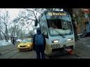Трамвай 35 Новоконная площадь Нагатино