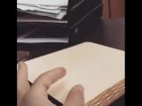 Изготовили на #лазере суперобложку из фанеры для блокнота. Изготовление #индивидуальной #упаковки #подарочная упаковка