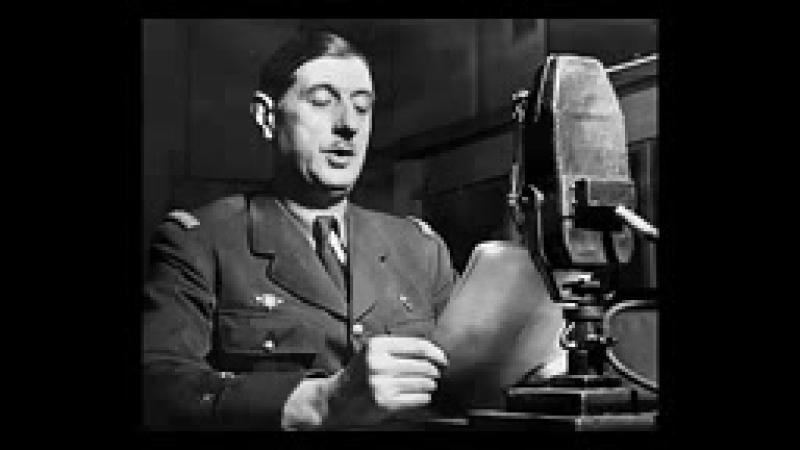 Appel du 18 juin 1940 Général de Gaulle