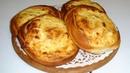 Вкусные слоено- дрожжевые ватрушки с творогом. Delicious puff pastry yeast cheesecakes