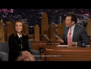 Зои на шоу Jimmy Fallon rus sub