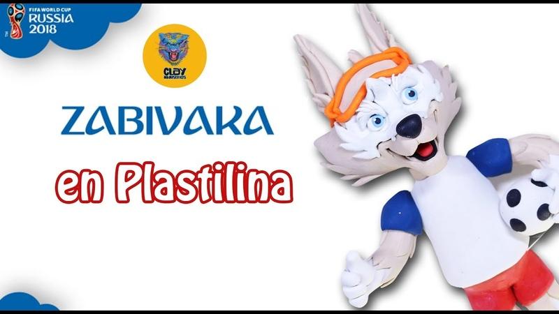 Tutorial Zabivaka en Plastilina / Clay Tutorial Zabivaka ESPECIAL DE FUTBOL ⚽