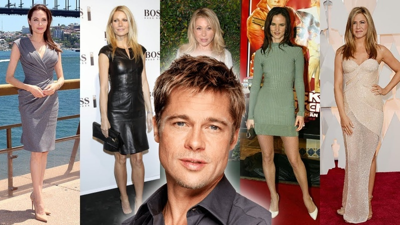 Brad Pitt Girlfriend's [1984 - 2018]