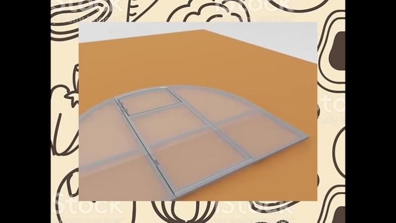 Плотный полимерный пластик 4 мм с ультрафиолетовой защитой-Тепличные конструкции «ОченьКрепко» Москва.