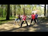 XUSHA'S dance club &amp ViLeDi (Рощино). РАЗМИНКА.