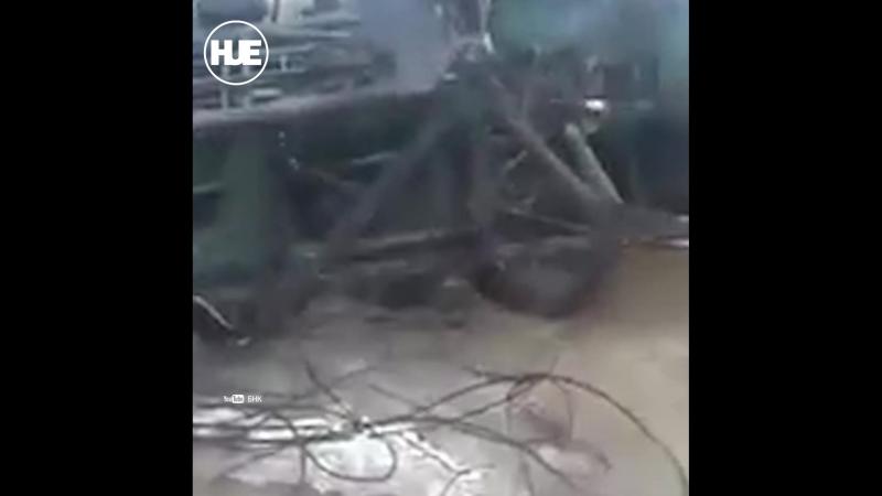 Под Усинском хоронят спецтехнику