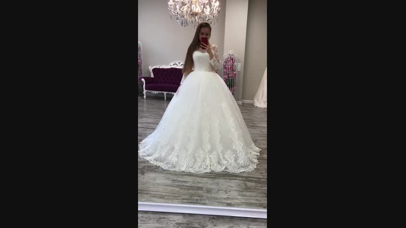 Свадебное платье для шикарной свадьбы 👑 доставка в любой город