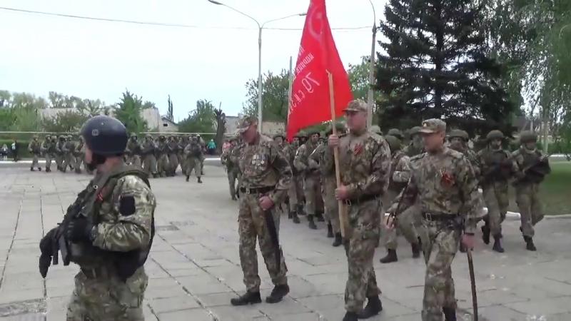 Ясиноватая, 9 мая 2018 ( видео А.Ходаковского) День Победы