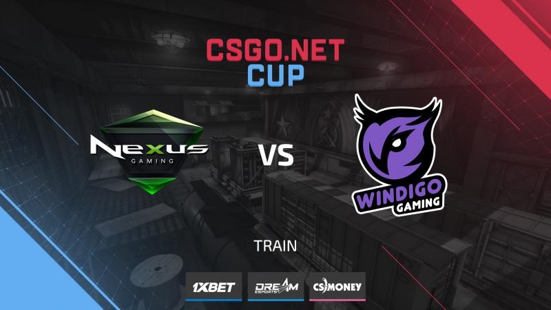 Nexus vs Windigo (de_train) [CSGO.NET Cup 1]