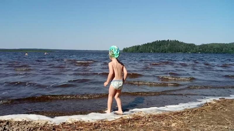 оз.Кавголовское 18.07.18 - переступить пену